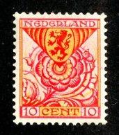 1171x)  Netherland 1925- Sc # B10  M*  ( Catalogue $4.25 ) - Periodo 1891 – 1948 (Wilhelmina)