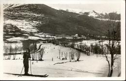 CP Les Sports D´hiver  à Luchon -  Ski - Vallée De Larboust Village De Garin - Cartes Postales