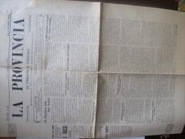 GIORNALE  LA PROVINCIA DI PESARO E URBINO - N.22 DEL 29 MAGGIO 1915 - Altri