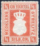 MECKLENBOURG-STRELITZ N°1 NEUF* - Mecklenburg-Strelitz