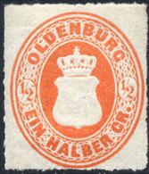 OLDENBOURG N°16 NEUF* - Oldenburg