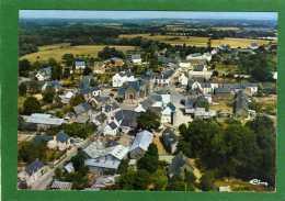 56 LANOUEE  - Vue Aérienne Du Centre L'église,garage Glenelle  CPM 10x15cm Année 1970 Edit CIM - Autres Communes