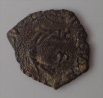 Henri III, Liard Au Dauphin, Imitation Italienne ? - 987-1789 Monnaies Royales