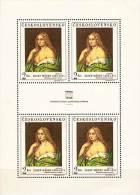 Czechoslovakia 1968 NUDE PAINTING M/S Sc#1552//Mi#1802 MNH CV.12,00 Euro - Blocks & Sheetlets
