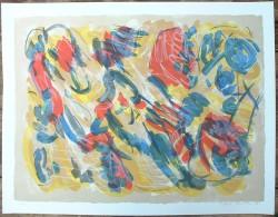 (1)  Belle Lithographie Originale De Shizu Shimada / Petit Tirage - Lithographies