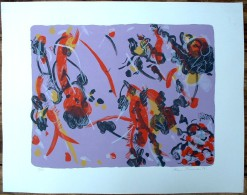(2)  Belle Lithographie Originale De Shizu Shimada / Petit Tirage - Lithographien