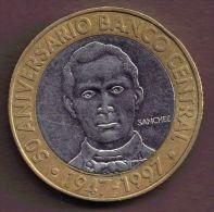 REP. DOMINICANA 5 PESOS 1997 50 ANIVERSARIO 1947-1997 - Dominicaine