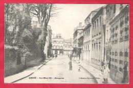 61-Gacé-la Rue Saint Jacques -très Belle Cpa 1906 - Gace