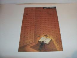 SCHUITEN. Catalogue Casterman 1990-91. 1ère De Couverture, Illustration De SCHUITEN - 4e De PRATT. - Objets Publicitaires