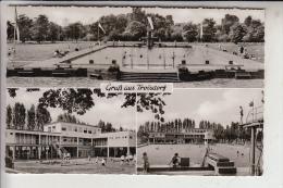 5210 TROISDORF, Schwimmbad, Mehrbildkarte - Troisdorf