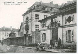 Pontoise  Hotel Dieu Entrée Principale - Coll Particulière Wichegrod Repro édit Abeille N°116 - Pontoise