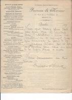 QUEBEC - 1895 - Librairie Montmorency-Laval - PRUNEAU & KIROUAC - Livres, Chromos, Eventails.... - Imprimerie & Papeterie