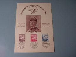 == CSR  Gedenblatt  Jan Capek  Sokol Zupa Tesinska ..  Sokol  ? 1948  Turn Und Sport - Cartas