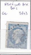FRANCE - Dpt LOIRET - S/22 - 20c Bleu - Napoleon III - Oblit   GC 2843 (  Neuville Aux Bois  ) - 1849-1876: Klassieke Periode