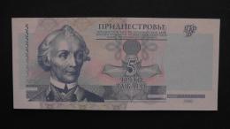 Transnistria - 5 Rublei - 2000 - P 35a - Unc - Look Scan - Banknotes