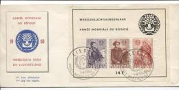 BF 32 Surtaxe  Réfugiés FDC Obl.Liège 7.4.60 AP438 - 1951-60