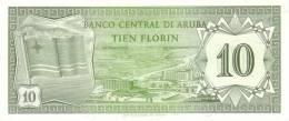 ARUBA  P. 2 10 F 1986 UNC - Aruba (1986-...)