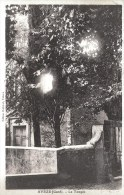 AVEZE - Temple Protestant - Collage Sur Carton - Francia