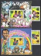 Dschibuti Djibouti 1979 Mi# 241-42 Bl. 1+2 ** MNH Jahr Des Kindes YEAR OF THE CHILD - Dschibuti (1977-...)