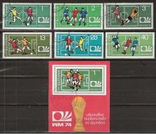 Bulgaria, FIFA Coup Du Monde Munchen 1974 Football, Soccer, Voetbal, Fussball - Coppa Del Mondo
