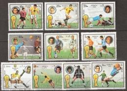 Fujeira, FIFA Coup Du Monde Munchen 1974 Football, Soccer, Voetbal, Fussball - Coppa Del Mondo