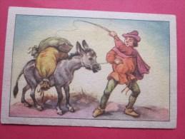 KOLLNFLOCKEN SIND VOLLKORNFLOCKEN GRIMMS MARCHEN  Bild 31 Série Allemande > Contes De Grimm Allemagne Chromo Image - Sonstige