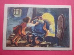KOLLNFLOCKEN SIND VOLLKORNFLOCKEN GRIMMS MARCHEN  Bild 6 Série Allemande > Contes De Grimm Allemagne Chromo Image - Schokolade