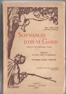 """DIALECTE DE SART-SAINT-LAURENT, NAMUR- (  SOV´NANCES D´ON VI GAMIN  \""""EUG. GILLAIN- 23 DESSINS D\´ALEX DAOUST - Belgique"""