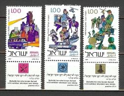 1977 Michel 710-712 MNH - Ungebraucht (mit Tabs)