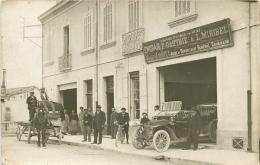 """84 -Carte Photo -Maison """"Victor JACOTET"""" Centre Du Dépot Général Engrais """"Gauthié & Miribel"""" - Cavaillon -(voir 2 Scans) - France"""