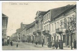 POLOGNE - LOMZA - ULICA DTUGA 1908 - Polen