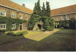 Nederland/Holland, Uden, Birgittinessenabdij, Binnentuintje, Ca. 1990 - Uden
