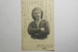 CPA Theodore Botrel Dans Le Rôle Du Pilote De Sa Pièce Populaire La Voix Du Lit Clos - 1901 - MY02 - Costumi