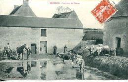 N°33544 -cpa Mézidon -intérieur De Ferme- - Fermes
