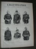 L'ILLUSTRATION 2864 AFFAIRE ESTERHAZY/ EMPEREUR ANNAM/ TORTUE BIJOU/ FRONDEUSES/ ECOLE DELLYS  15 Janvier 1898 - 1850 - 1899