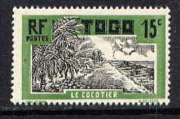 TOGO - N° 129* - LE COCOTIER - Neufs