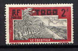TOGO - N° 125* - LE COCOTIER - Neufs