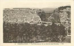 CONSTANTINE - Vue Générale Et La Sortie Des Gorges (ND. 3) - Constantine