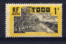 TOGO - N° 124* - LE COCOTIER - Neufs