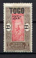 TOGO - N° 119* - PALMISTE - Togo (1914-1960)