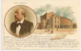 Allemagne / Germany - HANS Von BÜLOW +++ To Bad-Reichenhall, Germany, 1901 +++ Obpather, Munich, S. 46 +++ - Artistes
