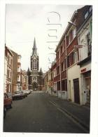 Lambersart (59): Photo Projet CP GF La Rue De L'église Prise Au Niveau De La Charcuterie Kindy En 1991 (animé) RARE. - Lambersart
