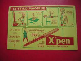 BUVARD  LE STYLO MAGIQUE  X ' PEN  EN VENTE AUX GALERIES LAFAYETTE - Papeterie
