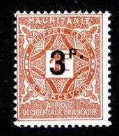 1226x)  Mauritania 1927- Sc # J18  M*  ( Catalogue $3.75 ) - Ungebraucht