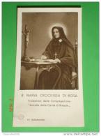 Reliquia - Beata Maria Crocifissa Di Rosa - Fondatrice Ancelle Carità Brescia   - Santino Stab.Pezzini Milano - Santini