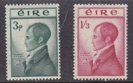 IRELAND (EIRE): 1953, ROBERT EMMET, MH * - Nuovi