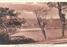 AURAY  - 56 -  Vue Panoramique D´Auray, Prise De La Route De VANNES  - 130913 - Auray
