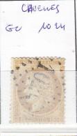 FRANCE - Dpt LOIRET - S/55 - 15c Bistre - Céres - Oblit   GC 1024 (  Cruelles ) - 1849-1876: Klassieke Periode