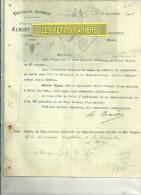 27 - Eure - CORMEILLES -  Facture FIQUET - Charron – 1919 - 1900 – 1949