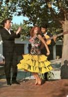 ESPAGNE DANSE ANDALOUSE CPM CIRCULEE  1960 - Dances